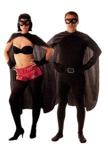 accessoire héros, accessoire de super héros, kit de super héros, cape de héros, accessoire déguisement héros, accessoire super héros déguisement, Kit de Héros, Noir