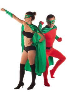 accessoire héros, accessoire de super héros, kit de super héros, cape de héros, accessoire déguisement héros, accessoire super héros déguisement, Kit de Héros, Vert
