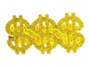 bague dollar, bague bling bling, fausse bague dollar, fausse chevalière dorée, fausse bague or et diamant, bague dollar pas cher, bague 3 doigts, bague 3 dollars Bague Dollars x 3