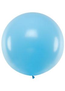ballon géant, ballon bleu ciel, ballon hélium, Ballons Bleu Ciel, 1 m, en Latex