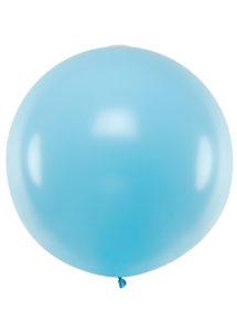 ballon géant, ballon hélium, ballon géant, ballon de baudruche, ballon bleu, Ballons Bleu Light Blue, 1 m, en Latex