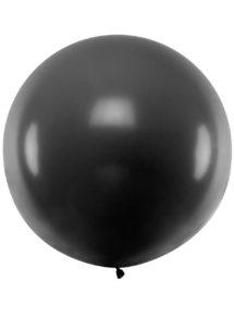 ballon noir géant, ballon baudruche, ballon hélium, ballons noirs géants, Ballons Noirs, 1 m, en Latex