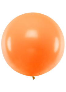 ballon orange, ballon géant, ballon hélium, ballon baudruche, Ballons Oranges, 1 m, en Latex