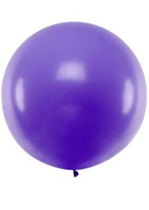 ballon géant, ballon violet, ballon hélium, ballon rond, Ballons Violets, 1 m, en Latex