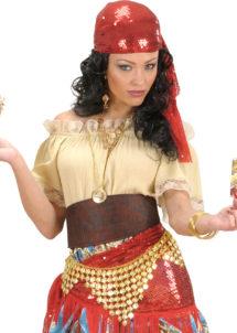 accessoire oriental, ceinture danseuse du ventre, ceinture orientale, ceinture gibsy, ceinture pièces d'or, danseuse arabe, danseuse du ventre, ceinture déguisement, ceinture déguisement pas cher, accessoire oriental, Ceinture Orientale à Pièces