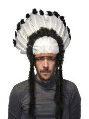 coiffe d'indien, plumes d'indien, accessoire déguisement indien, déguisement d'indien, coiffe d'indien à plumes, coiffure d'indien, coiffe de chef indien, coiffe déguisement Coiffe d'Indien, Nuage Noir