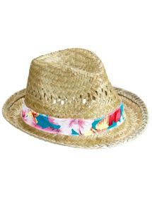 chapeau de paille, chapeau hawaïen, chapeau hawaï, chapeau borsalino paille, chapeau paris, Chapeau de Paille Beach Boy Hawaï