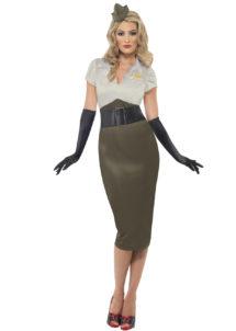 déguisement militaire femme, déguisement années 50, déguisement années 60, costume militaire années 50 femme, costume militaire femme, Déguisement Militaire, Pin up Années 50
