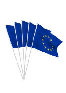 drapeau Europe, drapeau de l'Europe, drapeaux de table europe, Drapeau de l'Europe x 10, Drapeaux de Table