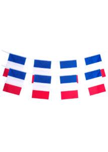 guirlande drapeaux français, guirlandes drapeaux france, décorations france, décorations euro 2016, drapeaux, drapeaux des pays, boutique supporter, Guirlande Drapeaux, France, Polyester