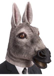 masque animaux, masque animal latex, masque d'âne, se déguiser en âne, masque animal latex, oreilles d'âne, Masque d'Ane, Latex
