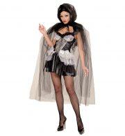 cape halloween femme, cape en tulle halloween, cape halloween adulte, cape femme carnaval de venise, cape transparente adulte, cape halloween déguisement Cape à Large Capuche, Noire, Tulle Brillant