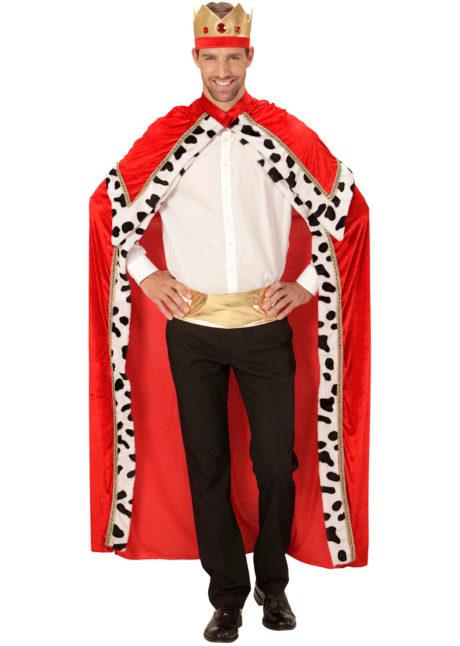 cape de roi, cape royale adulte, cape de roi déguisement, déguisement cape de roi, déguisement cape hermine, Cape de Roi, avec Couronne