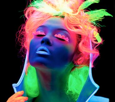 Couleur cheveux fluo