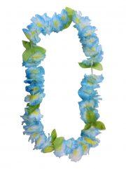 collier hawaïen, collier hawaï, collier de fleurs hawaïen, collier de fleurs hawaï, collier de fleurs hawaïen pas cher Collier de Fleurs Hawaïen, Bleuté