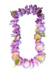 collier hawaïen, collier hawaï, collier de fleurs hawaïen, collier de fleurs hawaï, collier de fleurs hawaïen pas cher Collier de Fleurs Hawaïen, Violet