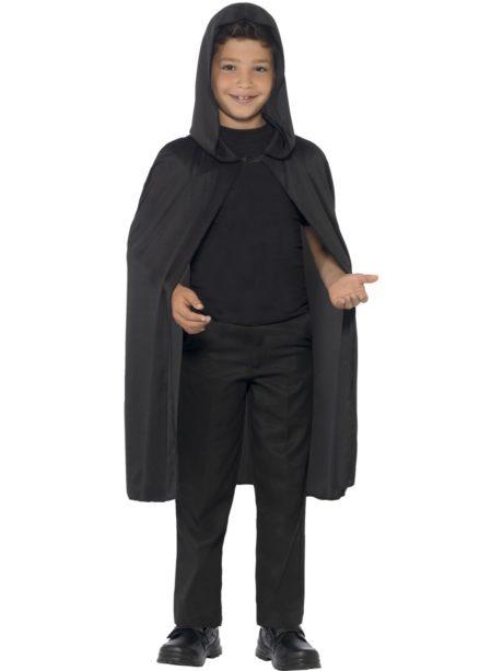 cape noir enfant, cape halloween enfant, cape pour enfant halloween, cape de vampire halloween, cape à capuche enfant, cape halloween enfant, cape noire capuche enfant Cape Noire à Capuche, Enfant