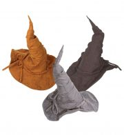 chapeaux halloween, chapeaux de sorcière, accessoires sorcières, déguisement de sorcière, chapeaux de sorcellerie, chapeau de sorcier, chapeau de sorcellerie Chapeau de Sorcier, Suédine