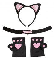accessoires oreilles de chat déguisement, oreilles de chat déguisement, déguisement de chat, oreilles de chat Kit Oreilles de Chat, Pinky