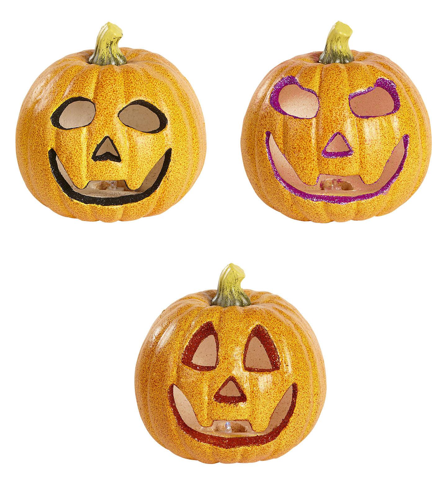 Image Result For Decoration Citrouille Pour Halloween Citrouille Lumineuse Clignotante Decoration Halloween