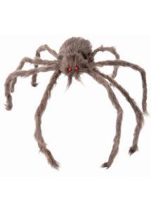 araignée géante, fausse araignée halloween, araignée géante fausse fourrure, araignée d'halloween, Araignée Géante, Fausse Fourrure, 60 cm