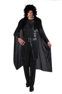 déguisement John snow, déguisement game of throne, cape de viking, déguisement viking, Déguisement de Viking, Chevalier Noir