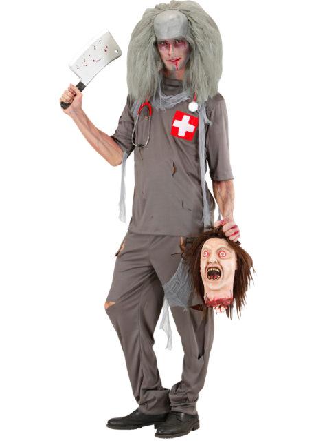 déguisement halloween homme, costume halloween homme, déguisement homme halloween, déguisement chirurgien halloween, costume chirurgien halloween, déguisement médecin halloween, costume médecin halloween, déguisement halloween adulte, Déguisement de Médecin Croix Rouge Zombie