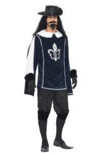 déguisement de mousquetaire, costume mousquetaire homme, tunique mousquetaire adulte, déguisement de mousquetaire, Déguisement de Mousquetaire, avec Accessoires
