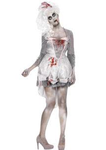 déguisement halloween femme, costume halloween femme, Déguisement Zombie, Géorgienne de l'Apocalypse
