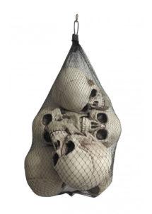 tête de mort décoration halloween, décos halloween, faux crâne halloween, tête de mort décoration, tête de mort halloween, faux crâne halloween, Faux Crâne, Tête de Mort x 6