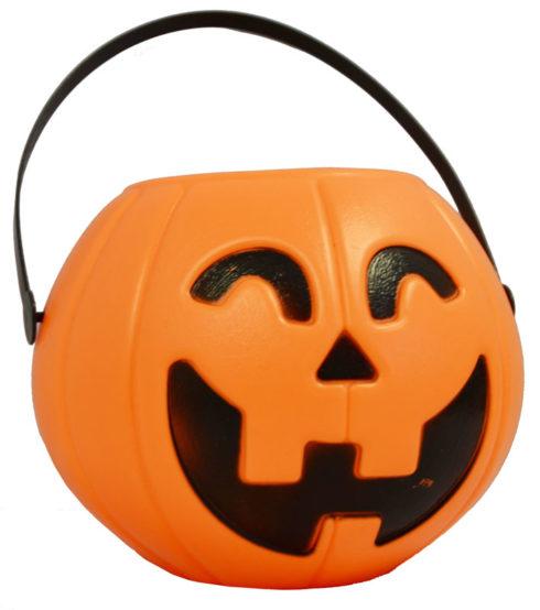 seau citrouille halloween, pot à bonbons halloween, citrouille à bonbons halloween Chaudron Citrouille, PM