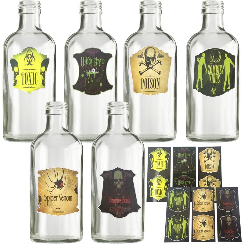 etiquettes pour bouteilles halloween aux feux de la f te paris. Black Bedroom Furniture Sets. Home Design Ideas