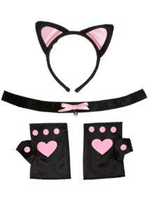 accessoires oreilles de chat déguisement, oreilles de chat déguisement, déguisement de chat, oreilles de chat, Kit Oreilles de Chat, Pinky