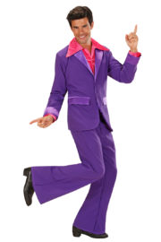 déguisement années 80 homme, déguisement survet disco, déguisement beauf, déguisement années 80 homme, déguisement années 90 homme, déguisement disco homme, déguisement homme disco Déguisement Disco Party Violet, Années 70