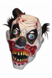 masque de déguisement, accessoire masque déguisement, accessoire masque halloween, accessoire déguisement halloween, masque clown halloween, accessoire masque clown horreur, masque latex déguisement, masque clown diabolique, masque clown halloween, masque clown maléfique Masque de Clown Maléfique Zombie, Latex