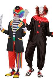 déguisement couple halloween, déguisement clown qui fait peur, déguisement clown halloween, déguisement clown maléfique, costume clown effrayant, déguisement halloween homme, costume halloween homme, déguisement halloween adulte Déguisement Couple de Clowns Effrayants
