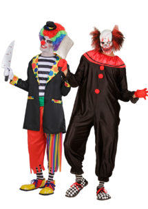 déguisement couple halloween, déguisement clown qui fait peur, déguisement clown halloween, déguisement clown maléfique, costume clown effrayant, déguisement halloween homme, costume halloween homme, déguisement halloween adulte, Déguisements Couple, Clowns Killers