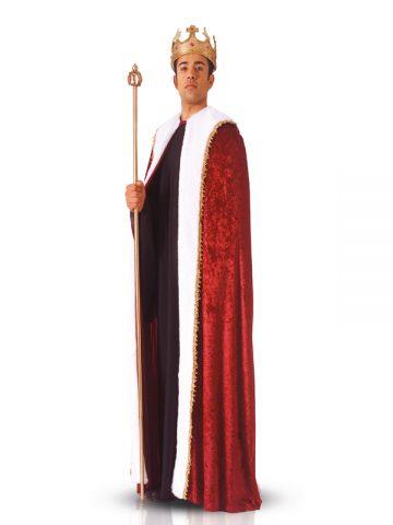cape de roi déguisement, déguisement homme cape de roi, déguisement de roi adulte, cape de roi velours déguisement, cape royale déguisement, cape de roi pour adulte déguisement Cape de Roi Luxe, Fausse Fourrure Blanche
