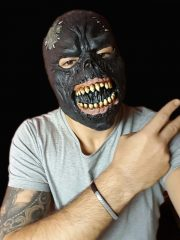 masque de déguisement, accessoire masque déguisement, accessoire masque halloween, accessoire déguisement halloween, masque horreur halloween, accessoire masque horreur, masque latex déguisement, masque de zombie, masque de bourreau halloween Masque de Bourreau, Latex