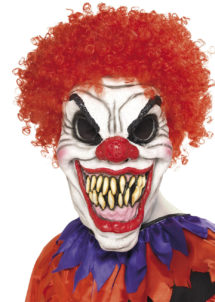 masque de clown méchant, masque de clown tueur, masque de clown halloween, masque halloween, Masque de Clown, Scary Clown