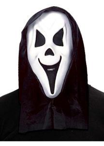 masque fantôme enfant, masque de déguisement, masque halloween enfant, masque enfant halloween, accessoire déguisement halloween enfant, Masque de Fantôme Blanc à Capuche