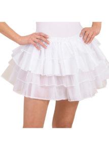 tutu blanc, tutu de danseuse, déguisement tutu, accessoire déguisement tutu, accessoire tutu déguisement, Tutu Blanc, en Tulle et Satin