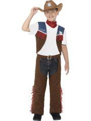 déguisement cowboy enfant, costume cowboy garçon, déguisement cowboy garçon, accessoire déguisement cowboy, accessoire cowboy déguisement, chapeau de cowboy déguisement enfant Déguisement de Cowboy Texan, avec Chapeau, Garçon