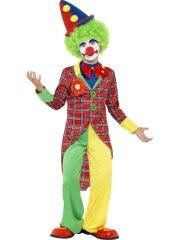 déguisement enfant, déguisement garçon, déguisement clown enfant, costume clown enfant, déguisement clown garçon Déguisement de Clown, Veste à Carreaux, Garçon