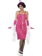 déguisement charleston, robe charleston déguisement, déguisement charleston, déguisement années 30, robe années 20, costume cabaret, déguisement cabaret femme, déguisement robe charleston Déguisement Charleston, Flapper Rose, Longueur 2