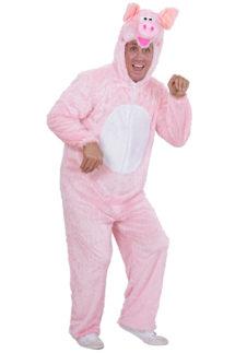 déguisement de cochon homme, costume de cochon homme, déguisement de cochon adulte, déguisement d'animaux adulte, costume de cochon femme, costume d'animaux pour femme, déguisement humour, costume de cochon adulte, costumes d'animaux adulte, Déguisement de Cochon, Combinaison Peluche Rose