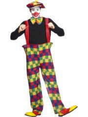 déguisement homme, déguisement adulte clown, costume clown homme, costume clown, accessoire clown déguisement homme Déguisement Clown Cerceau Salopette