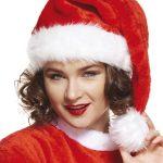 bonnet de noel, chapeau de noel, bonnet de père noel, bonnet noel lumineux, bonnet noel clignotant, bonnet de pere noel, accessoire pere noel déguisement, bonnet rouge noel, bonnet classique noel, bonnet original pere noel, bonnet Père Noël Bonnet de Père Noël, en Velours et Fausse Fourrure