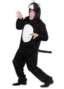 déguisement de chat homme, costume de chat homme, déguisement de chat adulte, déguisement d'animaux adulte, costume de chat femme, costume d'animaux pour femme, déguisement humour, costume de chat adulte, costumes d'animaux adulte, Déguisement de Chat, Combinaison Peluche Noire