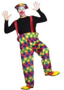 déguisement clown homme, costume de clown adulte, costume de clown homme, déguisement clown adulte, Déguisement Clown Cerceau Salopette